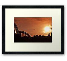 Sage Gateshead Framed Print