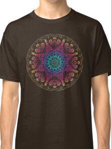 Bliss Energy Yoga Chakra Mandala Classic T-Shirt