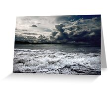Storm seascape Greeting Card