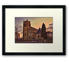Jesmond Parish Church Framed Print