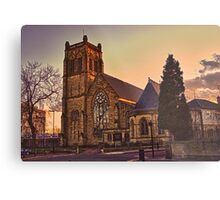 Jesmond Parish Church Metal Print