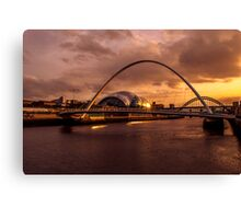 Millennium Sunset Canvas Print