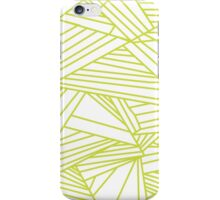 green lights by BLANKTOBAM iPhone Case/Skin