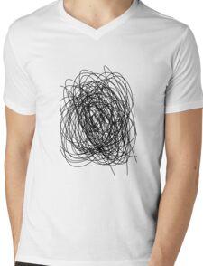 Sketchy-thingy-thing. Mens V-Neck T-Shirt