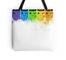 Gameboy Rainbow Tee Tote Bag