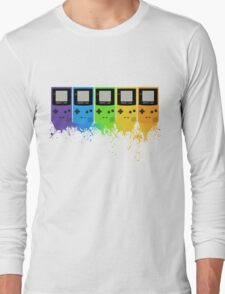 Gameboy Rainbow Tee Long Sleeve T-Shirt