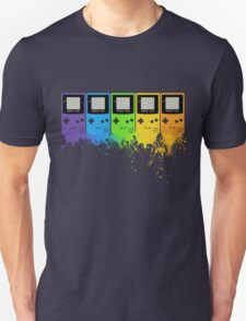 Gameboy Rainbow Tee Unisex T-Shirt