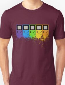 Gameboy Rainbow Tee T-Shirt
