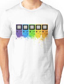 Gameboy Rainbow Tee Unisex T-Shirt