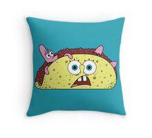 TacoBob Throw Pillow