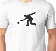 Bowling player Unisex T-Shirt