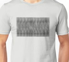 White Noise Waves Unisex T-Shirt