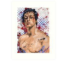 The Rise of the Italian Stallion Art Print