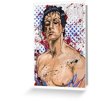The Rise of the Italian Stallion Greeting Card