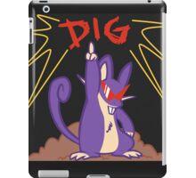 Dig Rat iPad Case/Skin