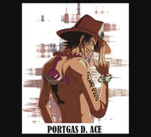 ONE PIECE - Portgas D. Ace T-SHIRT Kids Tee