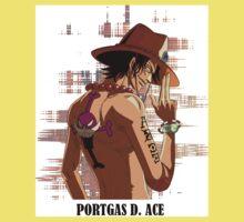 ONE PIECE - Portgas D. Ace T-SHIRT One Piece - Short Sleeve