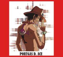 ONE PIECE - Portgas D. Ace T-SHIRT One Piece - Long Sleeve