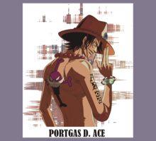 ONE PIECE - Portgas D. Ace T-SHIRT Kids Tee