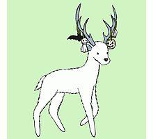 Halloween Deer Photographic Print