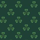 Irish Shamrocks All Over by HolidayT-Shirts