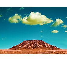 Desert mountain landscape Photographic Print
