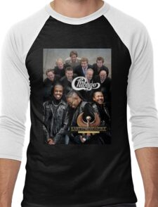 Chicago Earth Wind Fire Heart and Soul Tour 2016 AM2 Men's Baseball ¾ T-Shirt