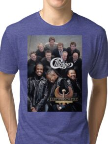 Chicago Earth Wind Fire Heart and Soul Tour 2016 AM2 Tri-blend T-Shirt