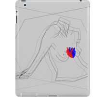 A woman's heart poster 021 iPad Case/Skin