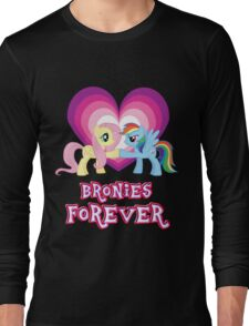 Bronies Forever Long Sleeve T-Shirt