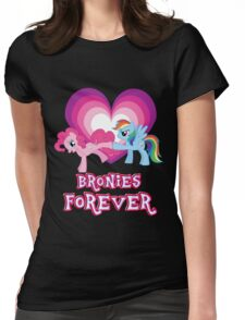Bronies Forever 2 Womens Fitted T-Shirt