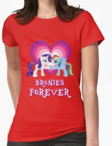 Bronies Forever 4 Womens Fitted T-Shirt