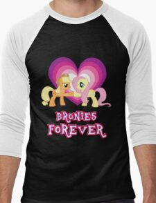 Bronies Forever 6 Men's Baseball ¾ T-Shirt