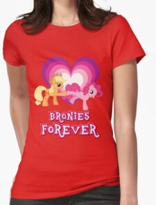 Bronies Forever 7 Womens Fitted T-Shirt