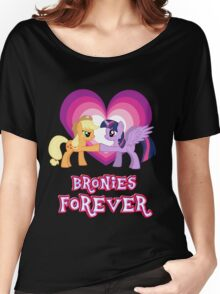 Bronies Forever 8 Women's Relaxed Fit T-Shirt