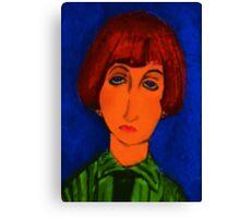 the devil wears k-mart Canvas Print