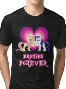 Bronies Forever 10 Tri-blend T-Shirt