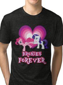 Bronies Forever 11 Tri-blend T-Shirt