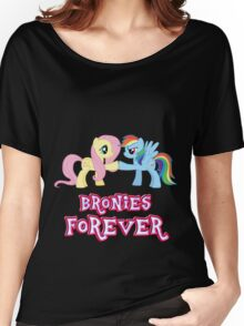 Bronies Forever (No Heart) Women's Relaxed Fit T-Shirt