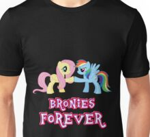 Bronies Forever (No Heart) Unisex T-Shirt