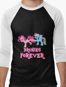 Bronies Forever (No Heart) 2 Men's Baseball ¾ T-Shirt