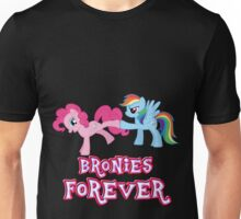Bronies Forever (No Heart) 2 Unisex T-Shirt