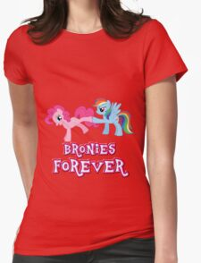 Bronies Forever (No Heart) 2 Womens Fitted T-Shirt