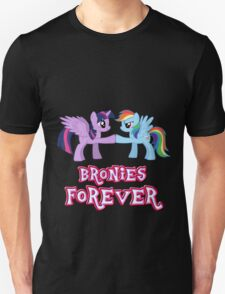 Bronies Forever (No Heart) 3 Unisex T-Shirt