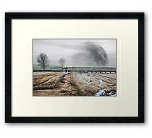 Full moon dreamscape Framed Print