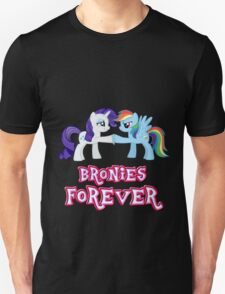 Bronies Forever (No Heart) 4 Unisex T-Shirt