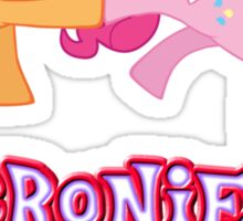 Bronies Forever (No Heart) 7 Sticker
