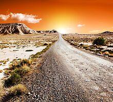 desert landscape  by carloscastilla