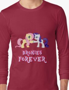 Bronies Forever (No Heart) 10 Long Sleeve T-Shirt