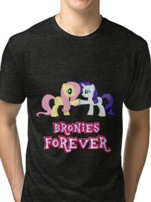 Bronies Forever (No Heart) 10 Tri-blend T-Shirt